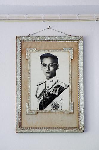 König Bhumibol in jungen Jahren