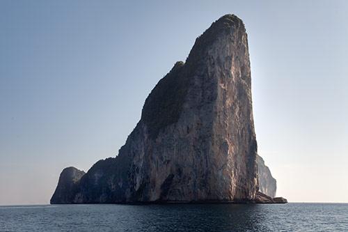 Der Felsendom von Ko Pih Pih Leh