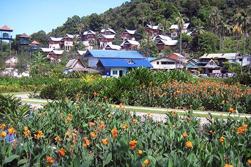 Abwasseranlage auf Phi Phi