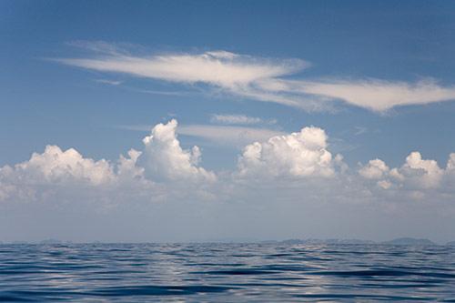 Wolken über Ko Phi Phi